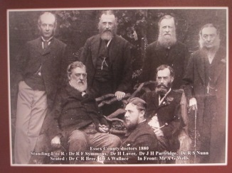 ECH Medical Staff 1880